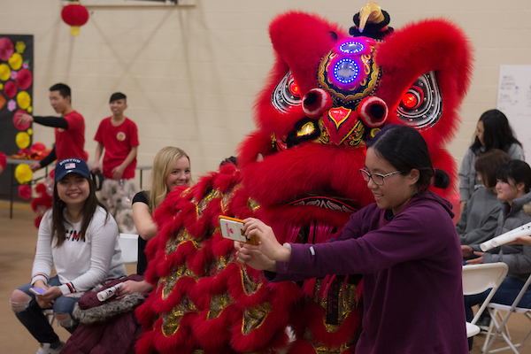 Chinese New Year celebration on campus